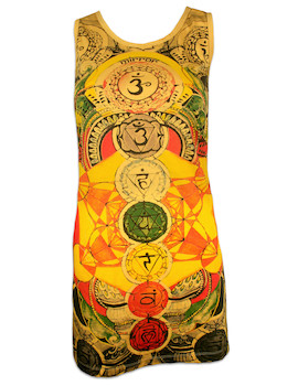 MIRROR Women's Tank Dress - The 7 Chakras