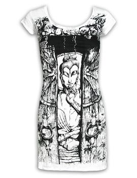 SURE Women´s Dress - Buddha The Wheel of Life