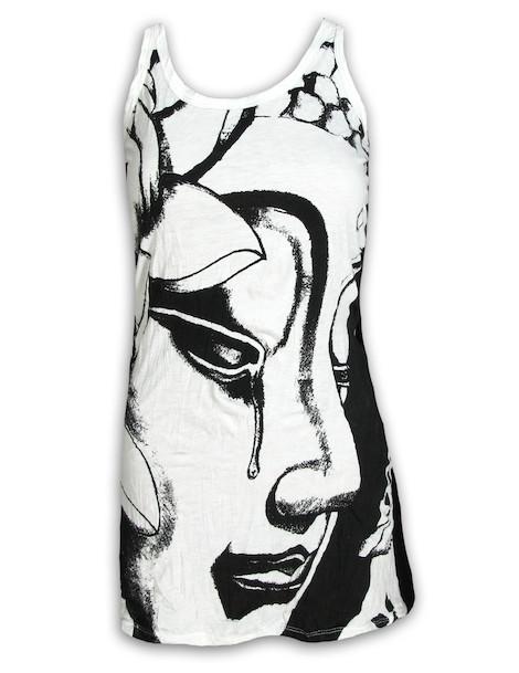 SURE Women´s Tank Dress - Crying Buddha