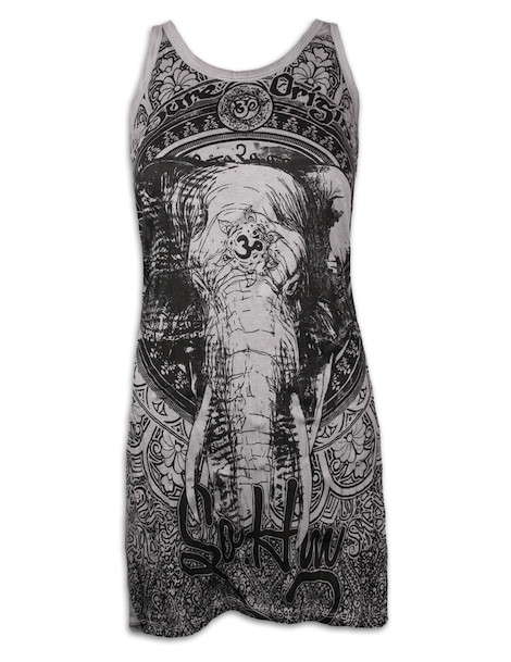 SURE Women´s Tank Dress - Om Ganesha