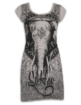 SURE Women´s Dress - Om Ganesha