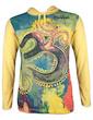Mirror Men's Hooded Sweater - Om Artwork