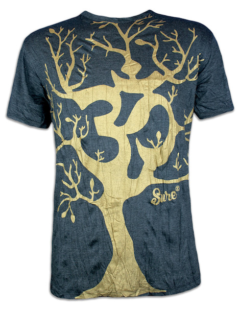 Sure Men S T Shirt Om Magic Tree Special Edition Size M L Xl Boho