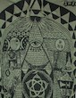 SURE Men´s Hooded Sweater - The All-Seeing Eye Size M L XL of Providence God Pyramid Goa Psy Trance