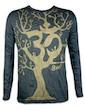 SURE Men´s Longsleeve - Om Magic Tree Special Edition Size M L XL Boho Goa Psy Trance Yoga of Life Worldtree