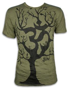SURE Herren T-Shirt - Om Magischer Baum