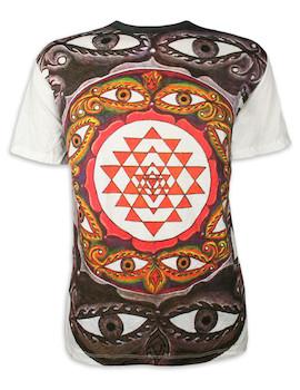 WEED Herren T-Shirt - Mandala der Tausend Augen