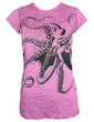 SURE Women's T-Shirt - The Giant Kraken Octopus Diving Beach