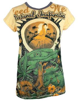 WEED Damen T-Shirt - Traumwelten