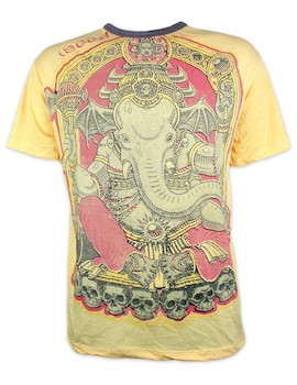 WEED Men´s T-Shirt - Vinayaka The Elephant God Hindu Yoga