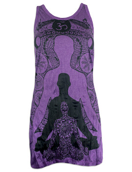 SURE Women's Tank Dress - Yogi