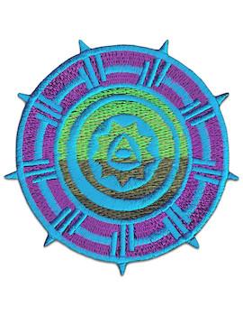 Aufnäher Azteken - Rad