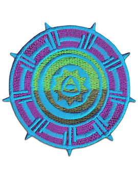 Patch Aztec Wheel