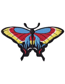 Aufnäher Bunter Schmetterling