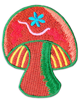 Patch Coulerful Magic Shrooms