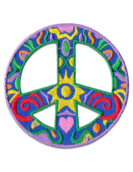 Patch Retro Peace