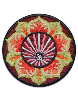 Patch Aum Flower Mandala