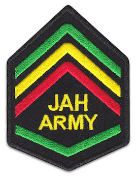 Aufnäher Jah Army