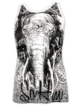 Sure Damen Tank Top Om Ganesha
