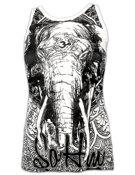 SURE Women´s Tank Top Om Ganesha