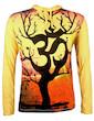 WEED Herren Kapuzen Sweatshirt - Om Magischer Baum