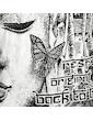 SURE Damen Top - Weisheit des Schmetterlings