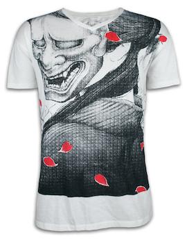Ako Roshi Herren T-Shirt - Shiroi Akuma Weißer Teufel