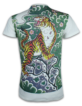 Ako Roshi Men´s T-Shirt - Tora Tiger