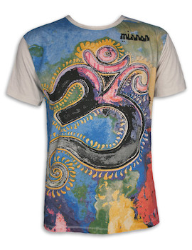 MIRROR Men´s T-Shirt - Om Artwork
