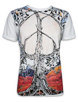 MIRROR Men´s T-Shirt - Peace Tree Of Life