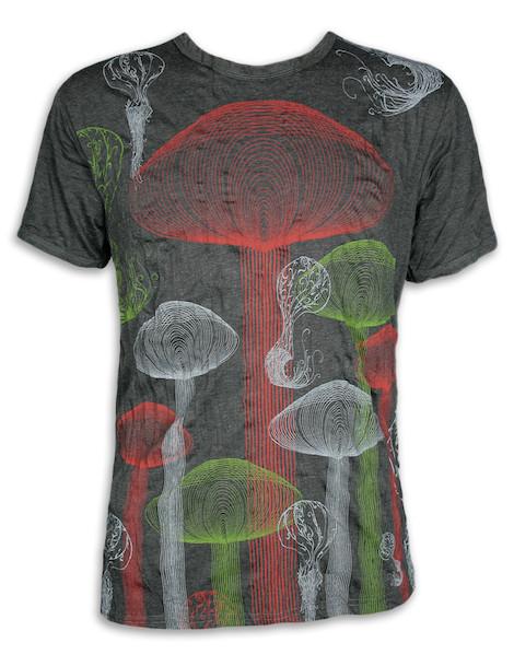 PURE Herren T-Shirt - Zauberpilze