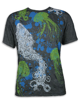 PURE Men´s T-Shirt - Magical Jellyfish