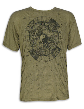PURE Men´s T-Shirt - Ying and Yang