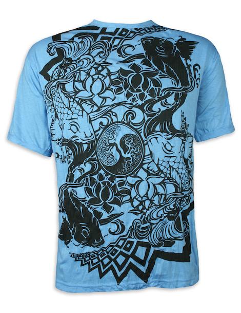 PURE Herren T-Shirt - Ying & Yang Kois