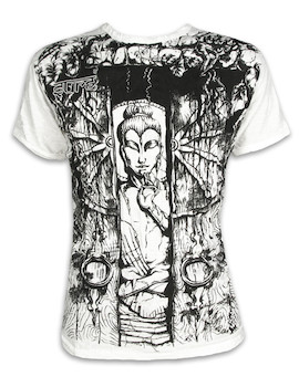 SURE Men´s T-Shirt - Buddha The Wheel of Life