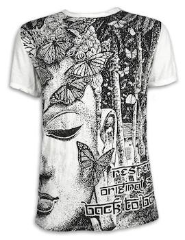 SURE Herren T-Shirt - Weisheit des Schmetterlings