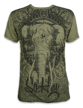 SURE Herren T-Shirt - Om Ganesha