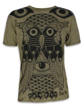 SURE Herren T-Shirt - Die Heilige Eule