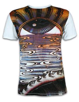 SURE Herren T-Shirt - Das Untergehende Auge