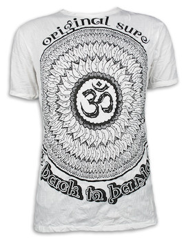 SURE Men's T-Shirt - Sunflower Mandala
