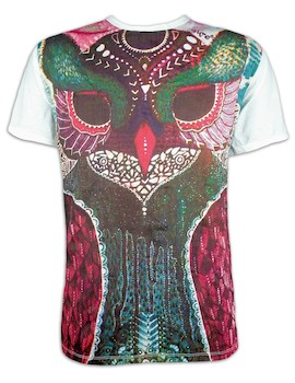 SURE  Men´s T-Shirt - Owl Totem