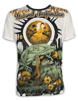 WEED Herren T-Shirt - Traumwelten