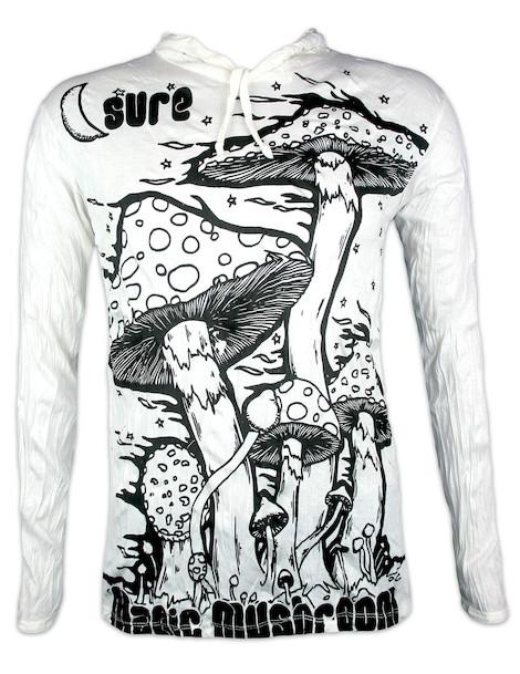 SURE Herren Kapuzen Sweatshirt - Magic Mushroom