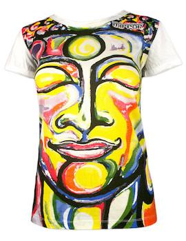 MIRROR Damen T-Shirt - Der Lächelnde Buddha
