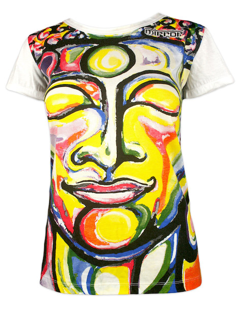 MIRROR Women's T-Shirt - Smiling Buddha